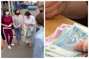украинцы, зарплата, деньги, гривны