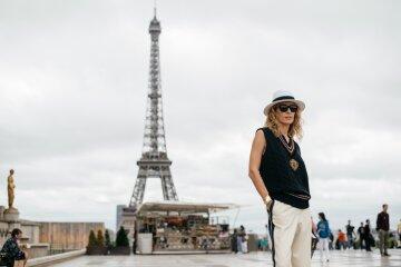 Париж, Франция, мода