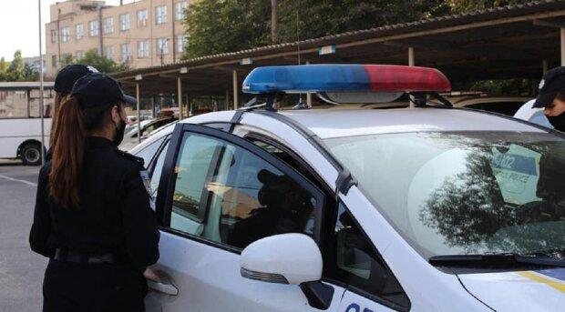 Поліція, авто, люди