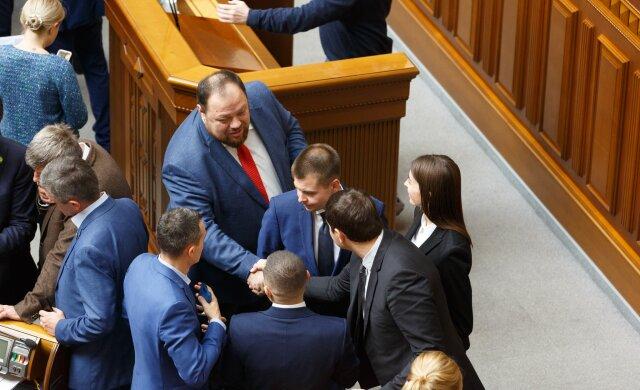 Рада, Слуга народа, Стефанчук