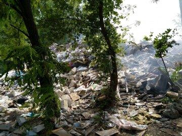 """""""Є совість?"""": Київщина потопає у відходах, стихійне звалище влаштували в мальовничому місці, фото"""