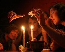 гадание, свечи