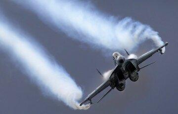 военный самолет, истребитель