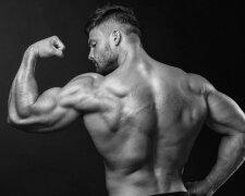 мужчина, качок, мышцы