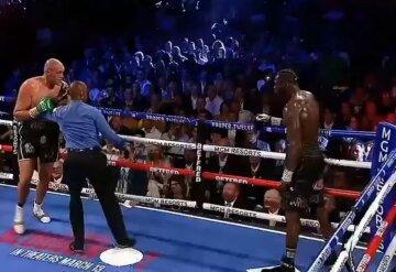 Переломный момент боя Фьюри – Уайлдер попал на видео, и это не нокаут