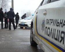 полиция, полицейская машина