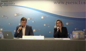 В Брюсселе презентовали книгу Шокина о международной коррупции