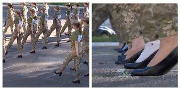 """Берцы не дадут: украинским курсанткам решили """"подпилить"""" каблуки, детали"""