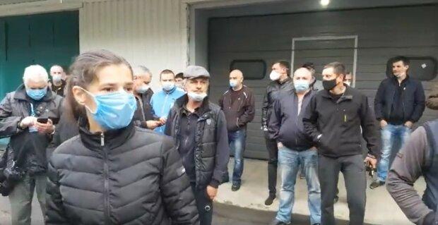 медики, протест, Харьков