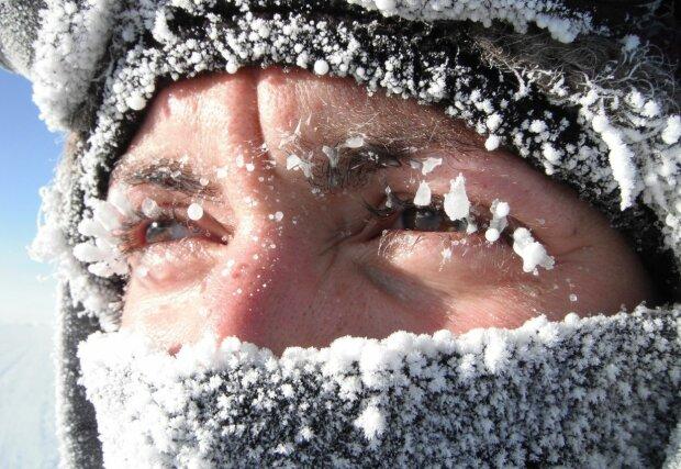 мороз, нельзя на морозе