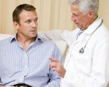 мужчина у врача, мужское здоровье