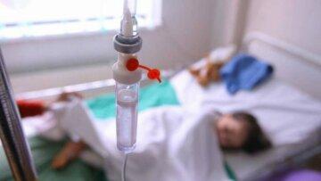 дети, больница. отравление