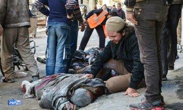 Сирия бомбардировка