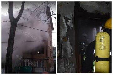 Пожар охватил многоэтажку в Одессе, видео ЧП: уже найдены тела людей
