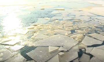 """В Киеве ребенок ушел под лед в 25 метрах от берега: """"услышали детский плач и..."""""""
