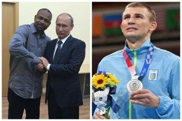 Скандал з Магучіх нічому не навчив: український боксер Хижняк засвітився з любителем Росії, фото