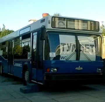В Питере появился автобус-туалет (фото)