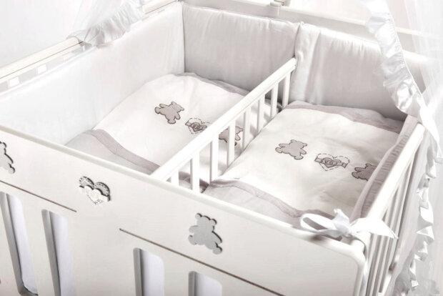 кроватка, двойняшки