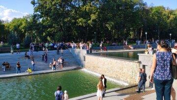 озеро, сад шевченко