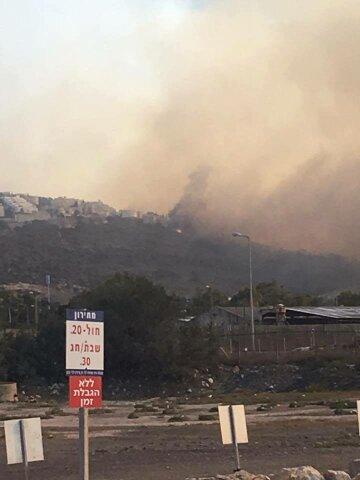 Пожар в израильской Хайфе потушен, но есть риск возобновления