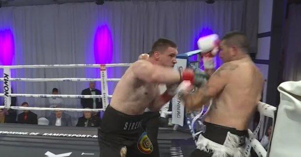 """Украинский супертяж смел """"грязного"""" итальянца в ринге, видео: """"хватило одного раунда"""""""