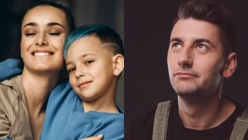 """Ксенія Мішина після повернення Еллерта прикрасила сина """"татуюваннями"""": """"Папік"""""""