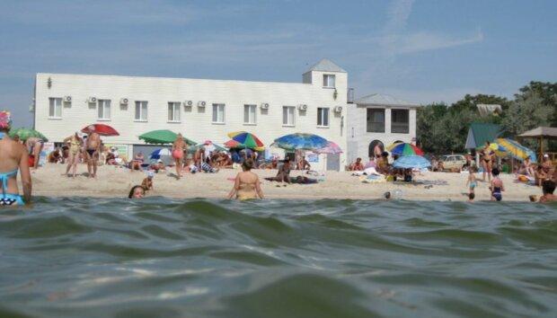 кирилловка пляж море