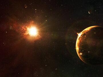 галактика вселенная планета