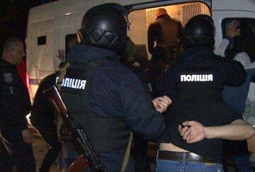 Полиция, штурм, киев