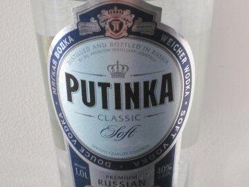 У Росії втратила популярність горілка «Путінка»