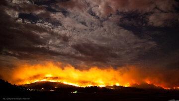 небо пожар апокалипсис
