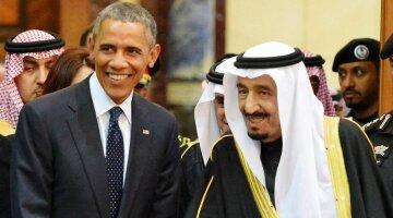 Саудовская Аравия и США Обама сауды
