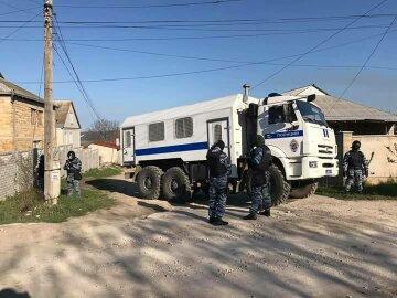 Крым обыски