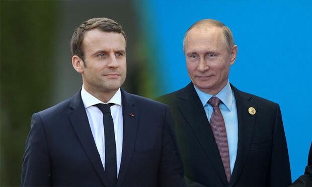 Путин-Макрон
