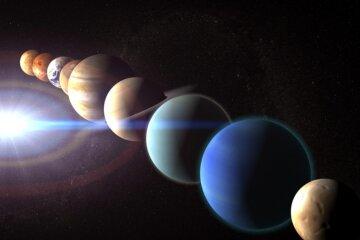 парад планет, космос