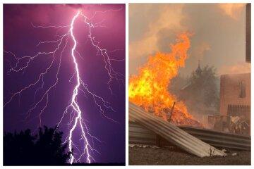 Стихія розгулялася на Одещині, удар блискавки завдав непоправної шкоди: фото