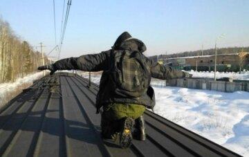 крыша поезда