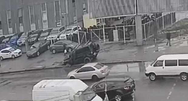 """Автохама на внедорожнике настигла  расплата в Одессе, видео облетело сеть: """"Карма существует"""""""