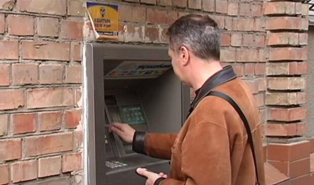 банкомат, украина, банк