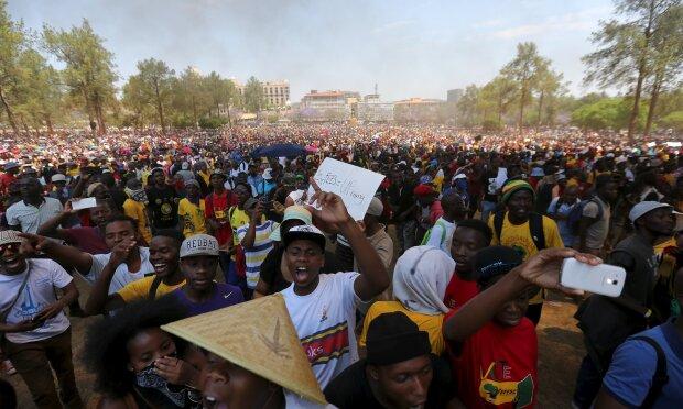 протесты студентов в ЮАР