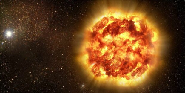 космос взрыв