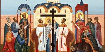 Воздвижение креста Господня2