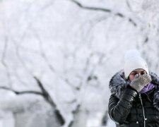 Погода в Украине, холод, мороз