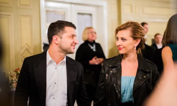 Елена и Владимир Зеленский