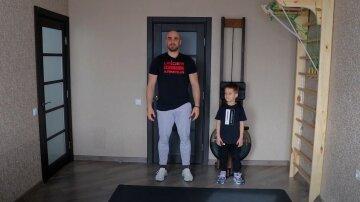 Тренер Насті Каменських показав інтенсивне тренування для дітей в домашніх умовах: корисне відео