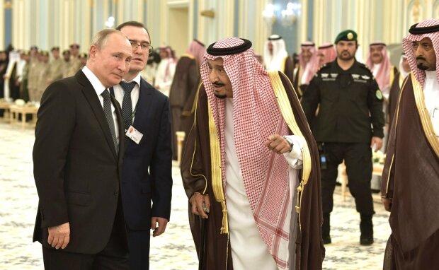 Владимир Путин, саудиты