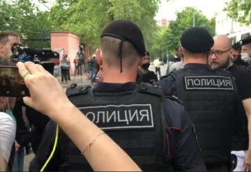 российская полиция, задержания, РФ