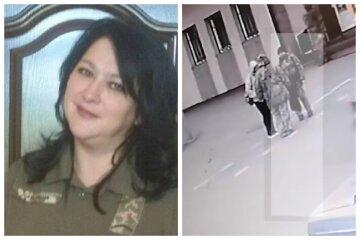 Резко упала на асфальт: последние минуты жизни одесской военной показали на видео