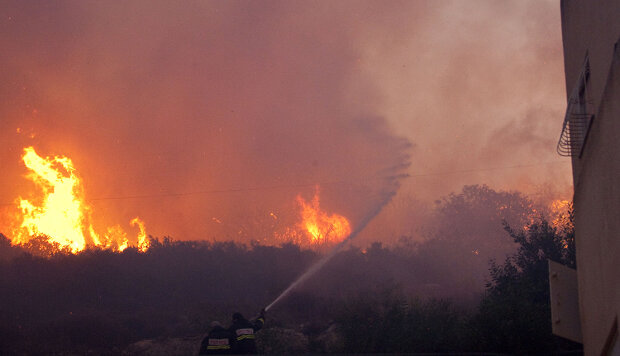Israeli Wildfire Continues To Burn