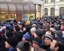 толпа люди